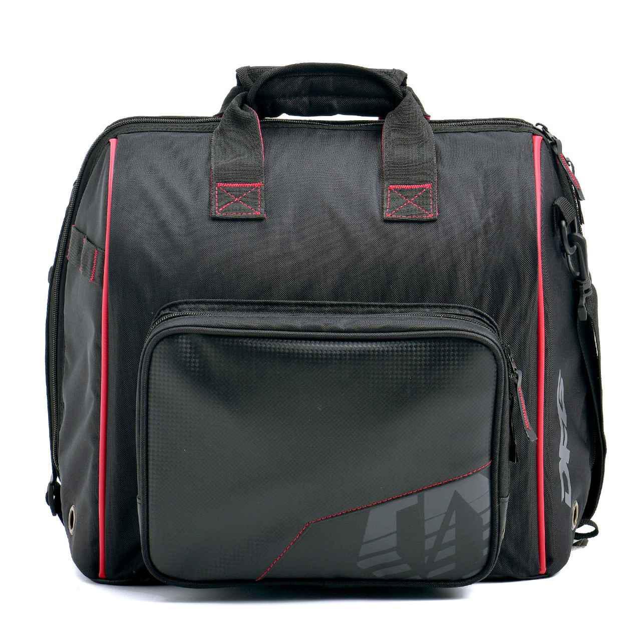 画像1: ヘルメット+小物ギアはバッグにまとめてスマートに
