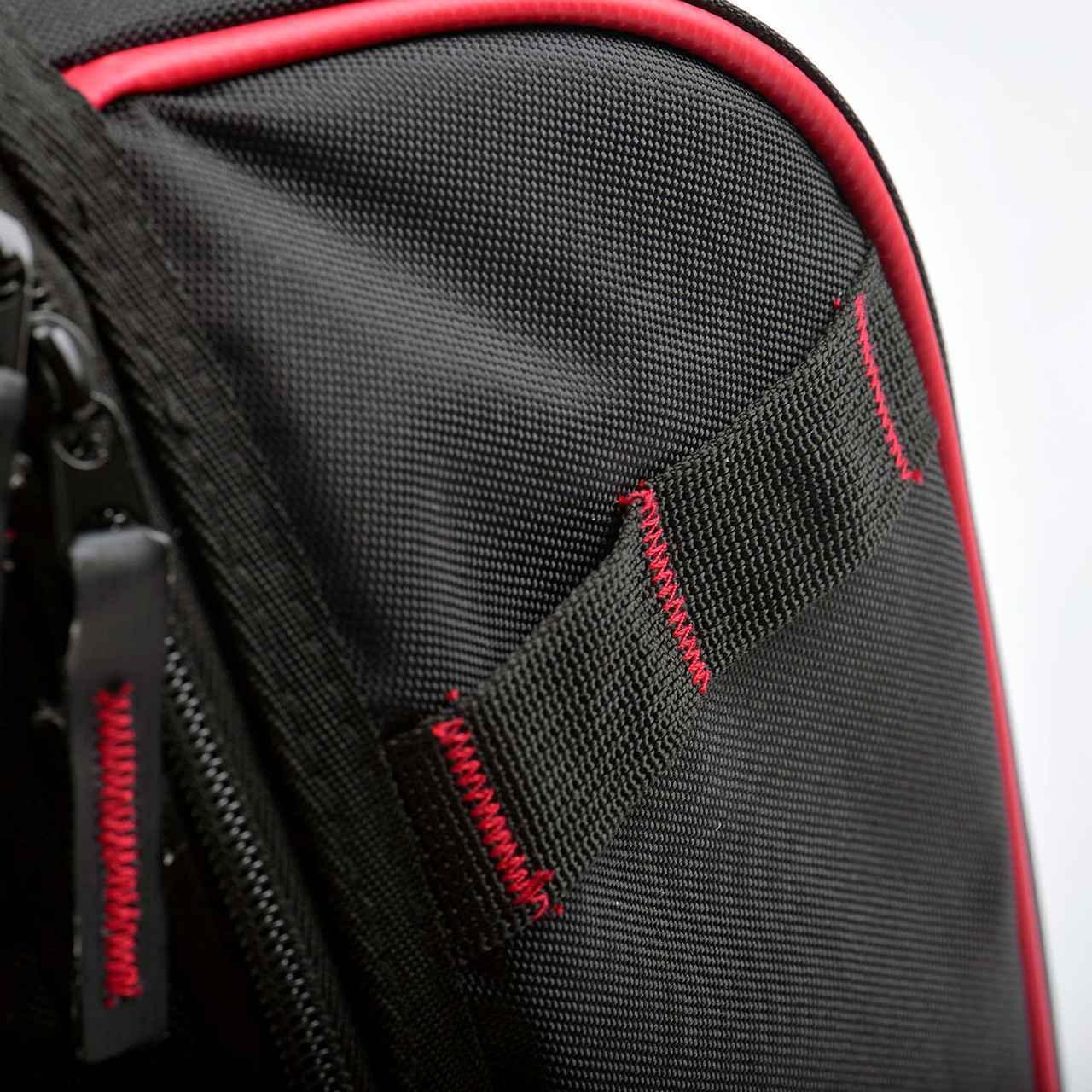 画像5: ヘルメット+小物ギアはバッグにまとめてスマートに