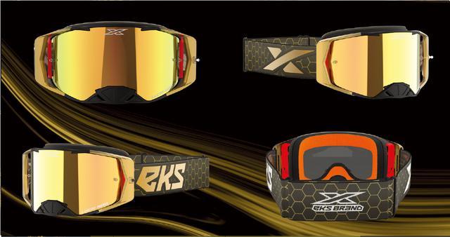 画像: EKS Brand LUCID ルシード ゴーグル ソリッドゴールド ゴールドミラーレンズ EKS Brand 日本輸入代理店 MOTO禅