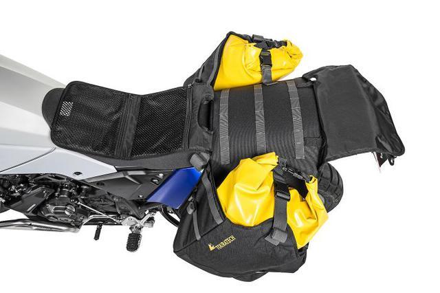 画像3: なるほど防水アイデア。完全防水バッグとベースが分離する、ラゲッジシステム