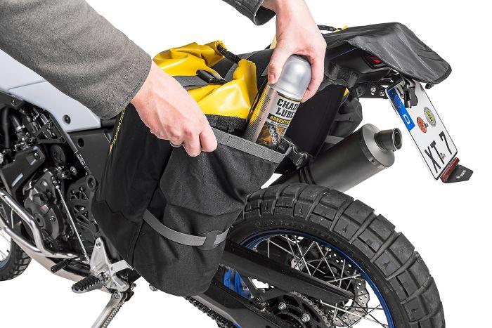 画像2: なるほど防水アイデア。完全防水バッグとベースが分離する、ラゲッジシステム