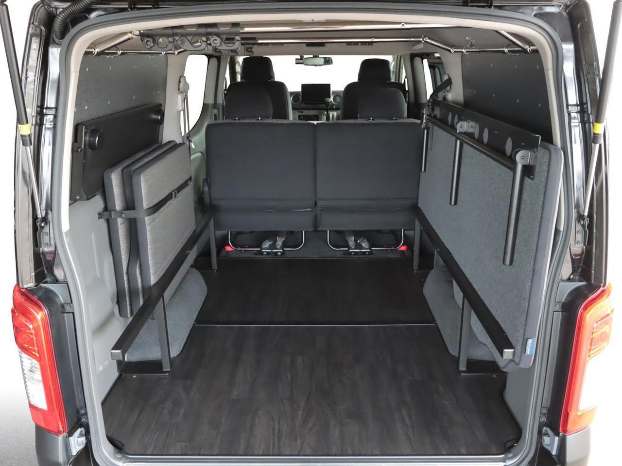 画像1: トランポをもっと快適に、既存モデルより6cm広いベッド上空間