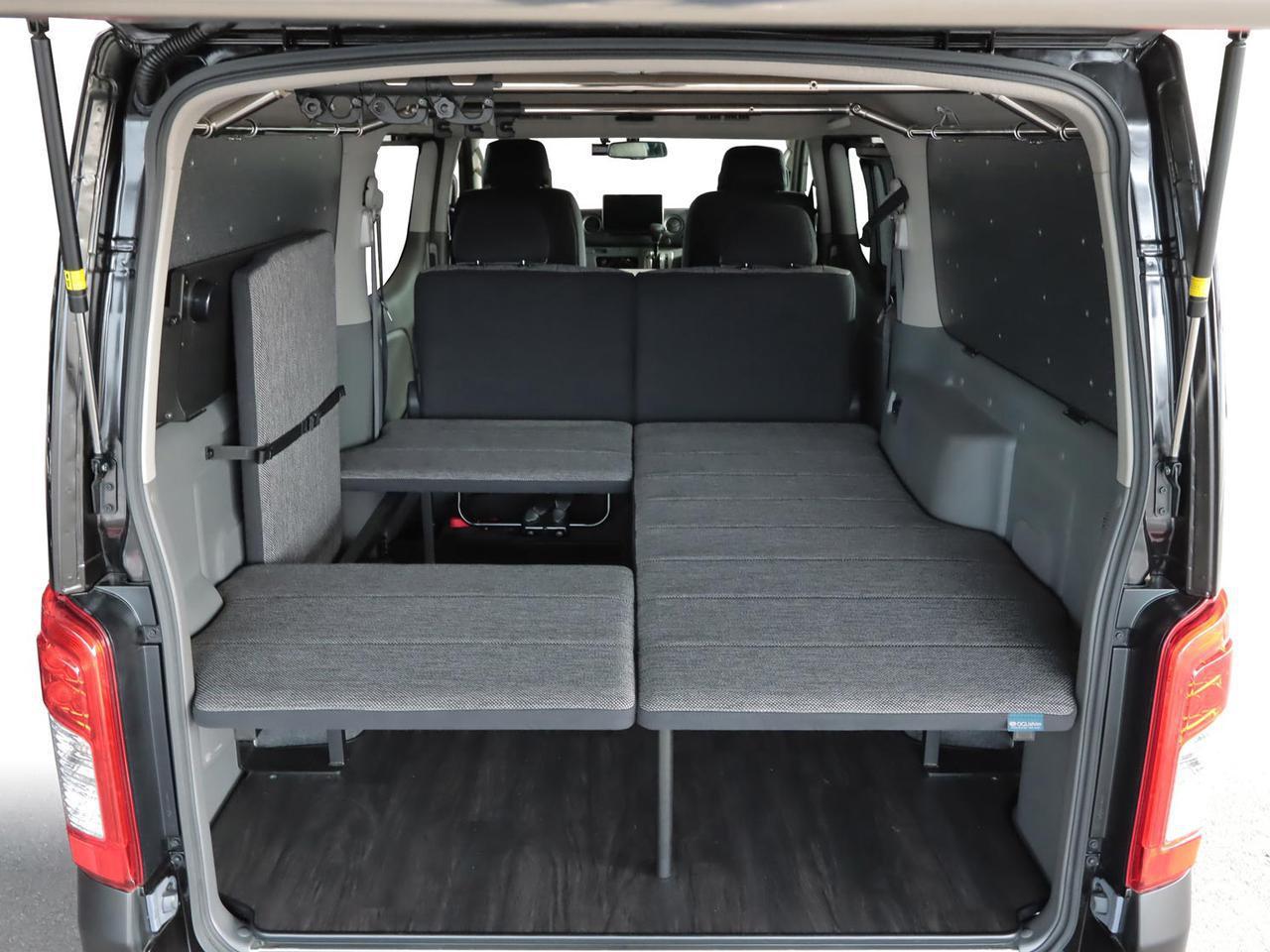画像3: トランポをもっと快適に、既存モデルより6cm広いベッド上空間