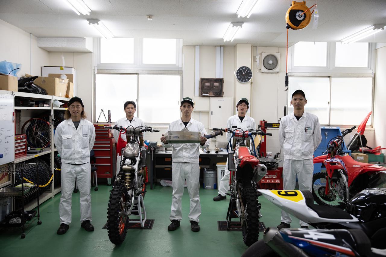 画像: GOSHI Racing Story 21' 開幕前の手応えあり。急ピッチで進んだCRF450R用エキゾースト - Off1.jp(オフワン・ドット・ジェイピー)