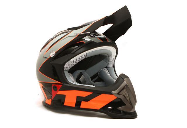 画像1: KYTのオフロードヘルメットSTRIKE EAGLEに新色追加