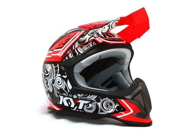 画像2: KYTのオフロードヘルメットSTRIKE EAGLEに新色追加