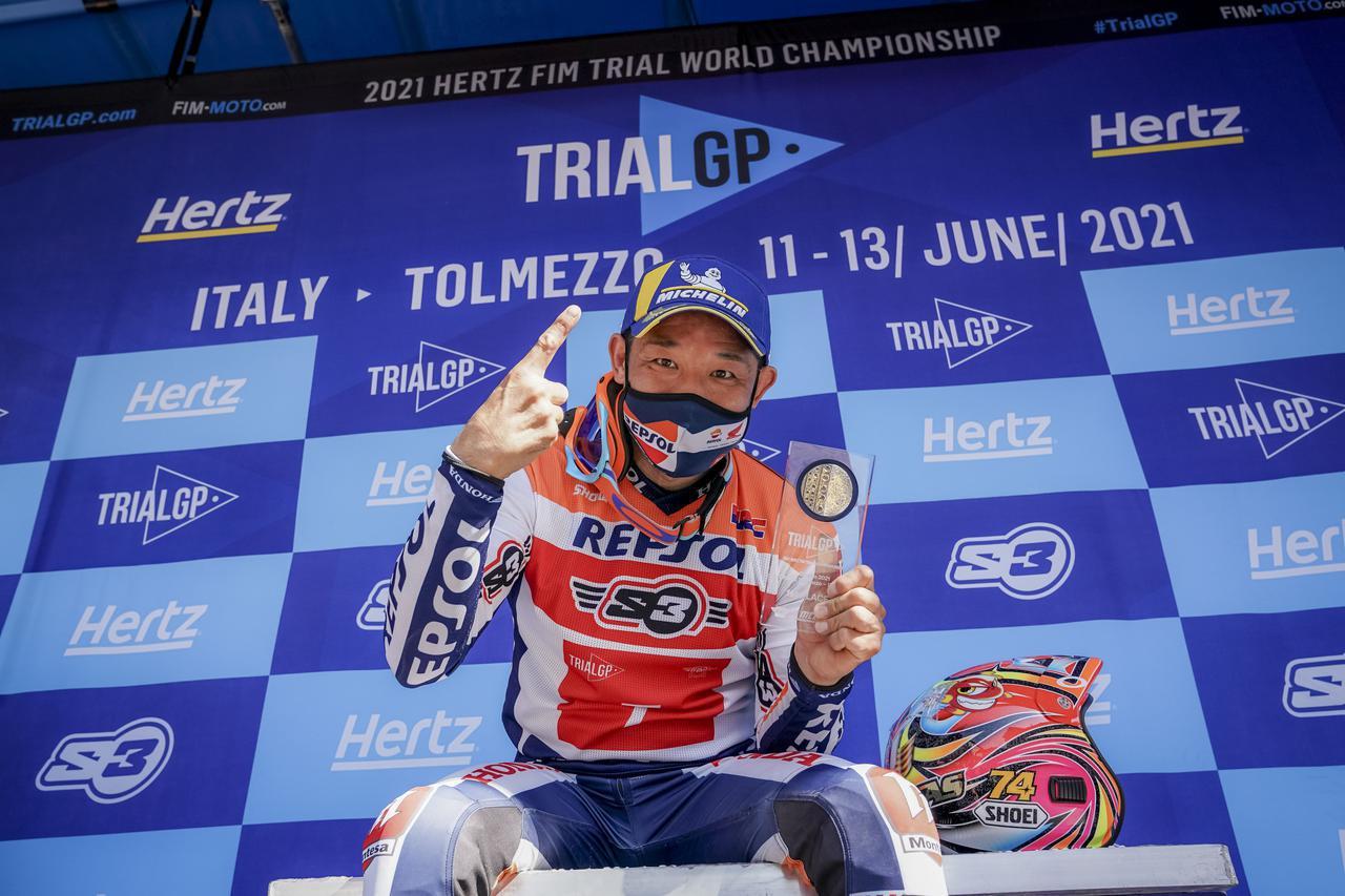 画像1: 藤波貴久が41歳にして、トライアル世界選手権5年ぶり優勝