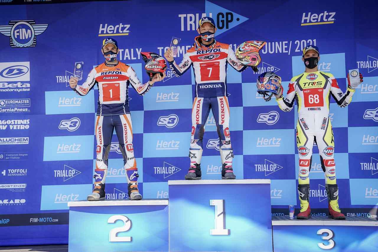 画像2: 藤波貴久が41歳にして、トライアル世界選手権5年ぶり優勝