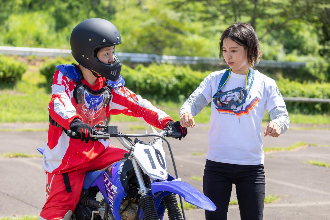 画像5: オフロードバイクを使ったレジャーイベント、SUGO学園で楽しくバイク体験