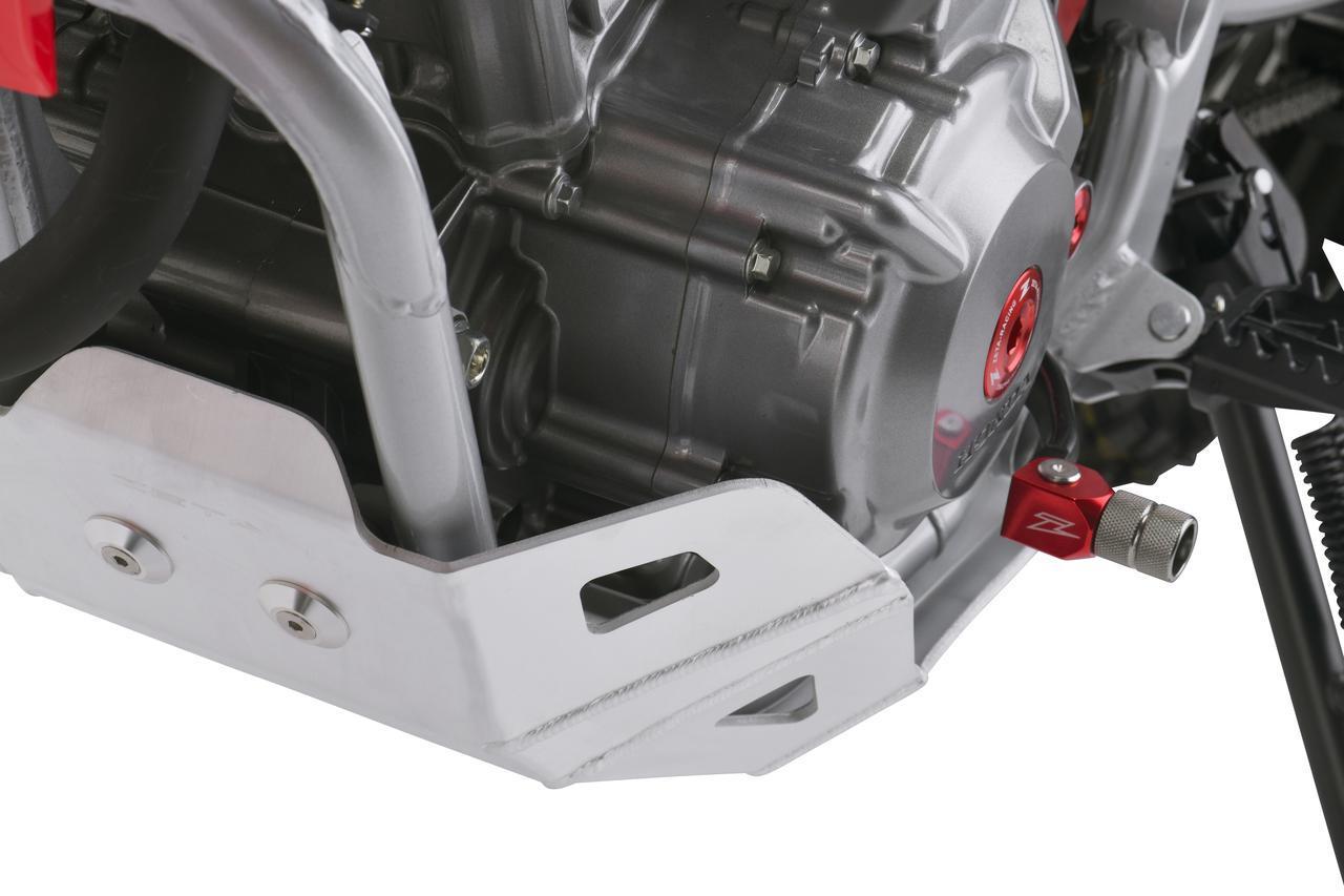 画像3: 新型CRF250Lに適合したスキッドプレートでエンジンをしっかりガード