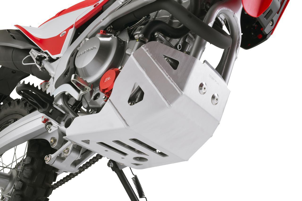 画像2: 新型CRF250Lに適合したスキッドプレートでエンジンをしっかりガード