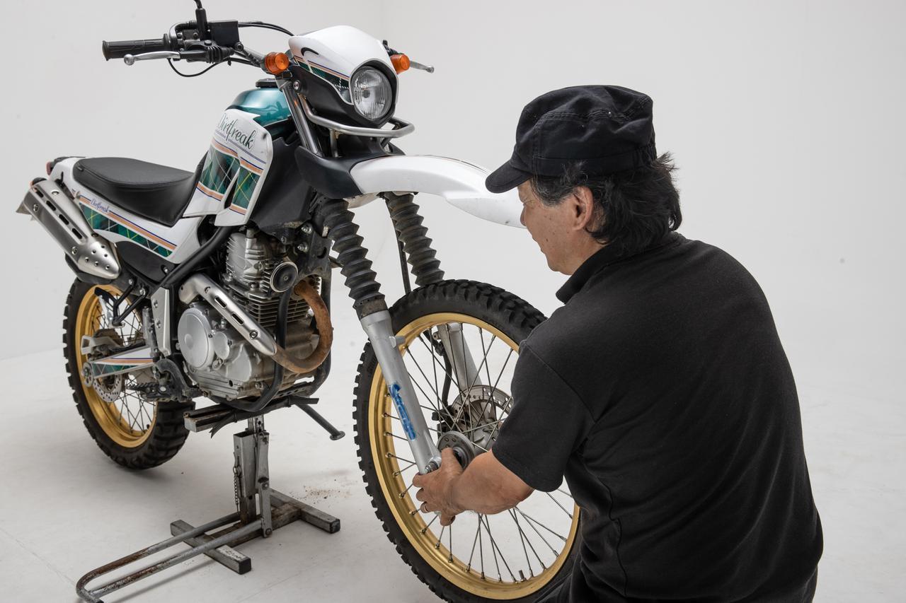 画像: DIYメンテ de オフロードバイクが巧くなる! vol.1「まずは、足まわりのどこが傷んでいるか見つけよう」 - RIDE-HACK