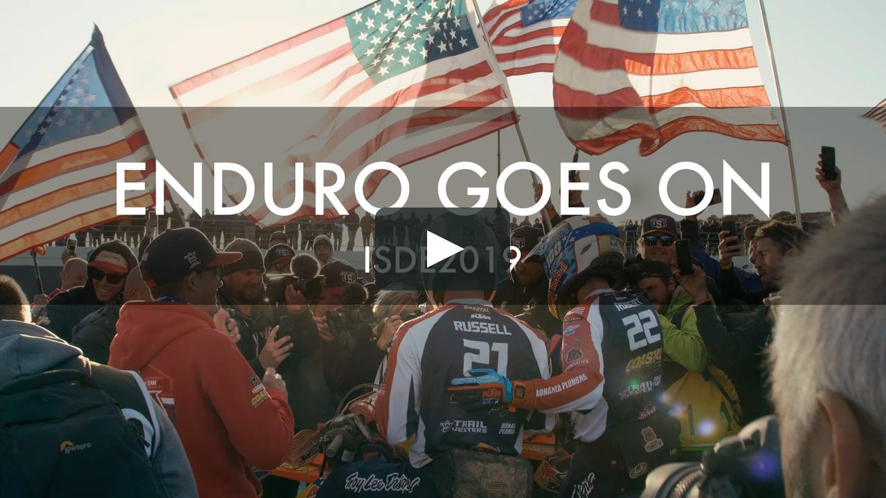 画像1: Watch ENDURO GOES ON ISDE2019 Online | Vimeo On Demand vimeo.com