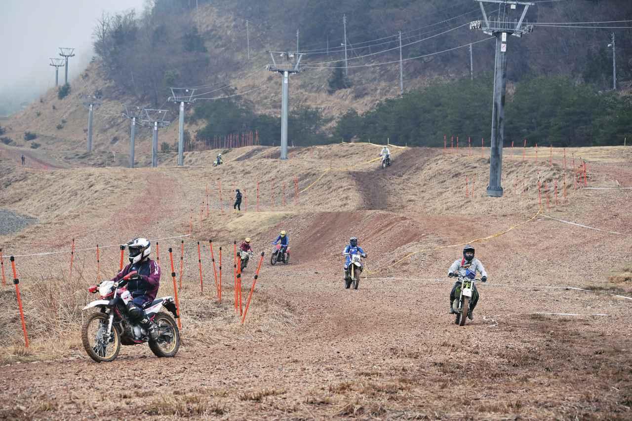 画像1: 大人気、滋賀県朽木スキー場で第3回ビギナー向け走行イベント