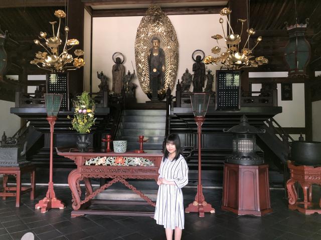 画像: 釈迦如来立像(掲載している写真は全て、特別な許可を得て撮影しています。)