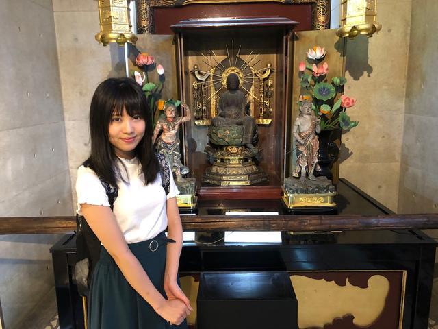画像: 延命地蔵菩薩像