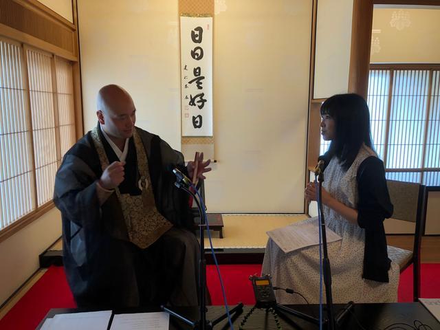 画像: 雲林院宗碩常任布教師とインタビュー