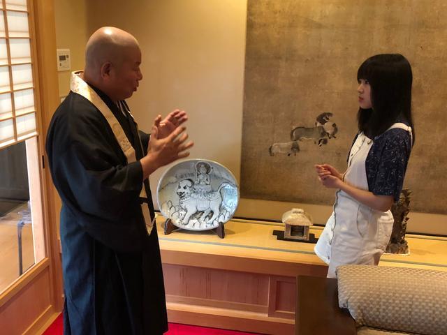 画像: インタビューの後もいろいろ宮城執事長にお話を伺いました