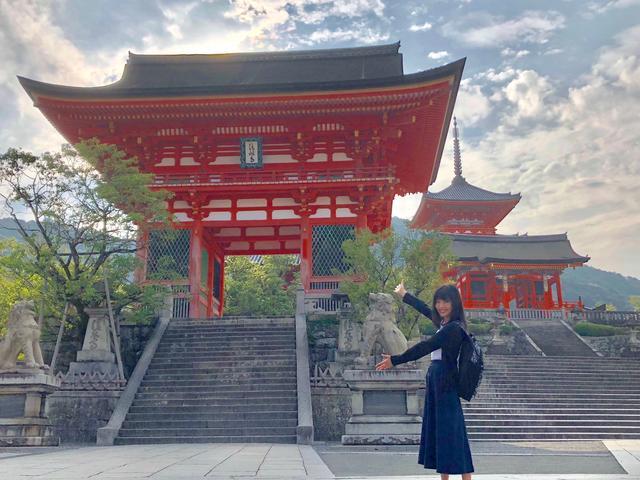 画像: 今週と来週は皆様ご存知、清水寺。こちらは仁王門です。
