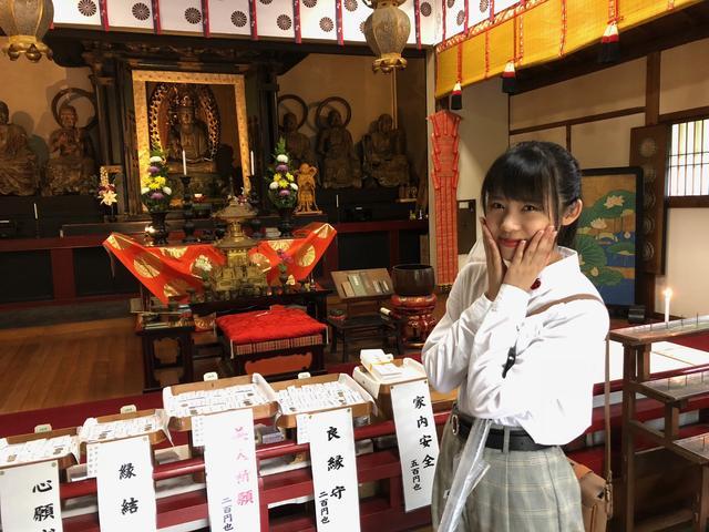 画像: 楊貴妃観音堂。ここにお参りすると、別嬪さんにナルソウナ・・・
