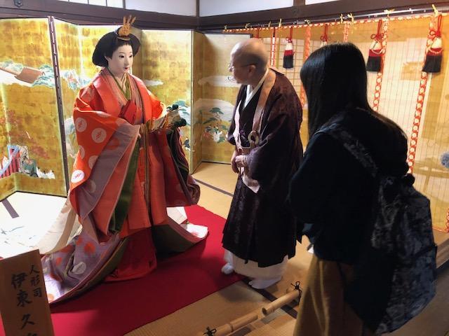 画像: 田中住職さんにご説明していただきました。