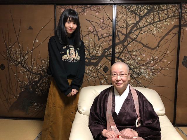 画像: 宝鏡寺門跡 住職の田中惠厚さんにお話を伺いました。