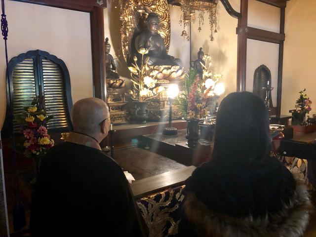 画像: 町田管長に為になるお話を伺いました。