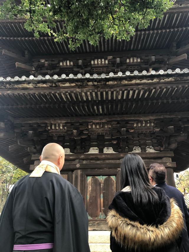 画像: 法観寺の正面です。