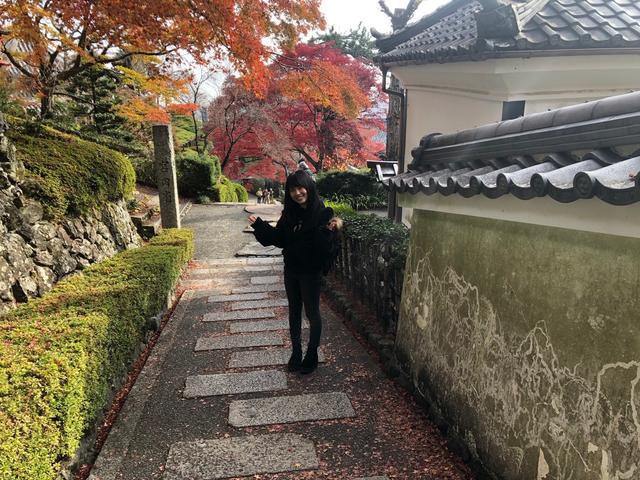 画像: お寺の中を歩くだけで楽しいです。