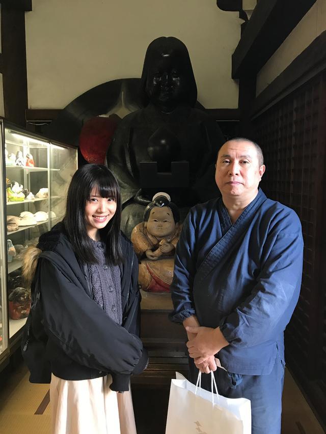 画像: 住職の菊入諒如さんです