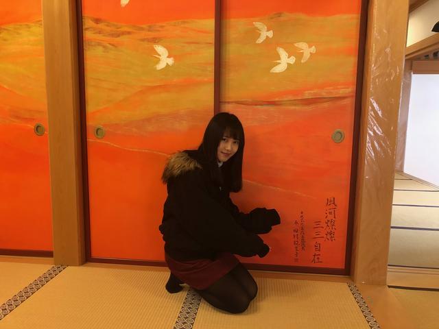 画像: ここに田村画伯の名前があります。