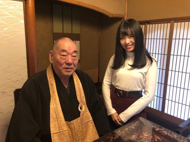 画像: 今週も天龍寺宗務部長の田原義宣さんに伺いました。