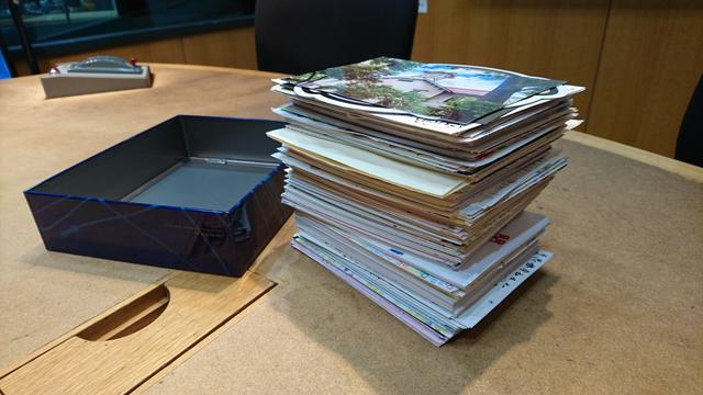 画像1: 毎月23日は「ふみの日」ということで、おハガキでのリクエスト、先週4人が言っていたように箱に入らないくらい沢山送って下さってありがとうございました!