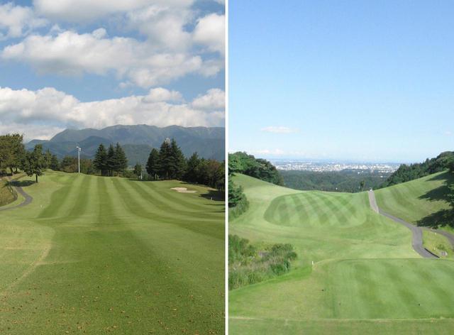 画像: 小田原GC松田C(左)、大厚木CC本C(右)