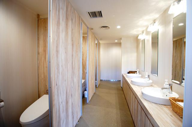 画像: 女性用トイレ