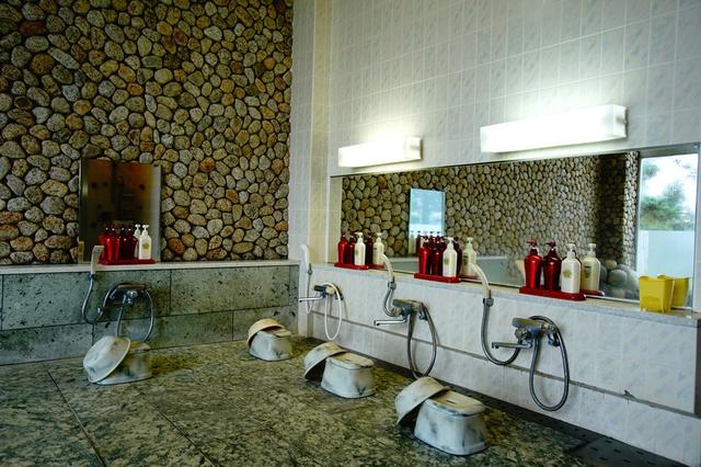 画像: 女性用浴室(シャワーのみ。冬季はクローズ)