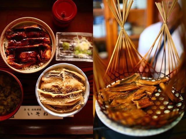 画像: 1日限定10食1960円はかりめ2色丼(写真左)