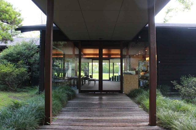 画像6: 【倶楽部 我山】木立に囲まれたクラブハウス。自分の山へひっそり遊びに行くような隠れ家コース!