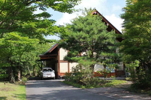 画像2: 【倶楽部 我山】木立に囲まれたクラブハウス。自分の山へひっそり遊びに行くような隠れ家コース!