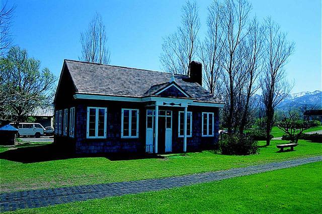 画像: 復元された旧クラブハウスは新コースの茶店として使われている