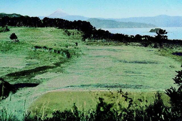 画像: 僅か1セットのみ現存する絵ハガキ(富士コース9番)