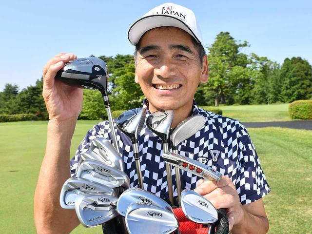 画像: 島田崇さん(67歳)。 HC+1 富山市内でゴルフ練習場「古沢ゴルフクラブ」を夫婦で経営。2009年、2010年には富山県シニアゴルフ選手権を連覇