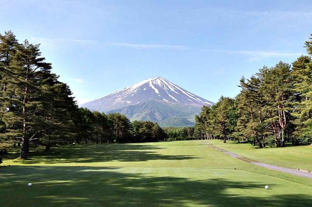 画像: 富士山に向かってナイスショット。メンバーになると、これが日常になります