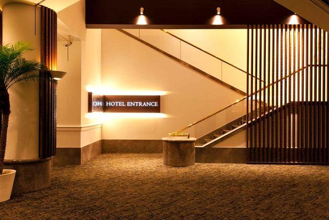 画像: ホテルのエントランス