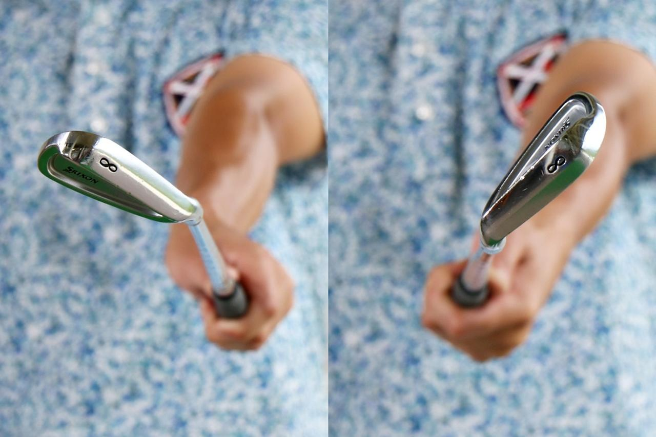 画像: クラブヘッドが回転した時に生まれるトルク。フェース開閉で発生