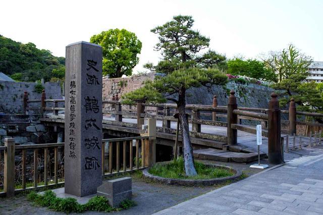 画像: 鶴丸城跡。「薩摩は人をもって城となす」