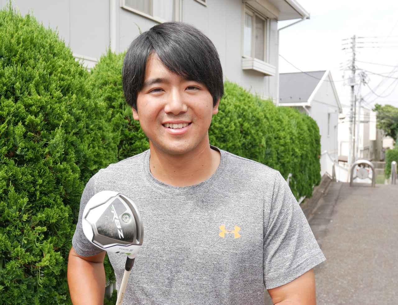画像: 「この5番ウッドは僕のゴルフの恋人です」