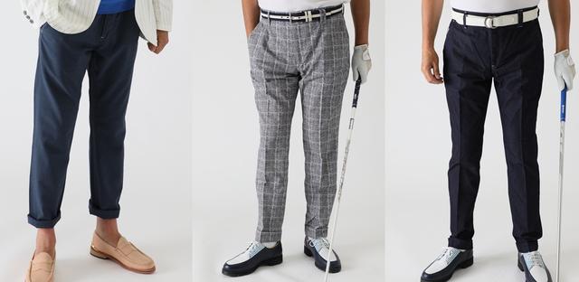 画像1: ロングパンツは、3アイテムがラインナップ。他にも、夏におすすめなハーフパンツとジャケットも。