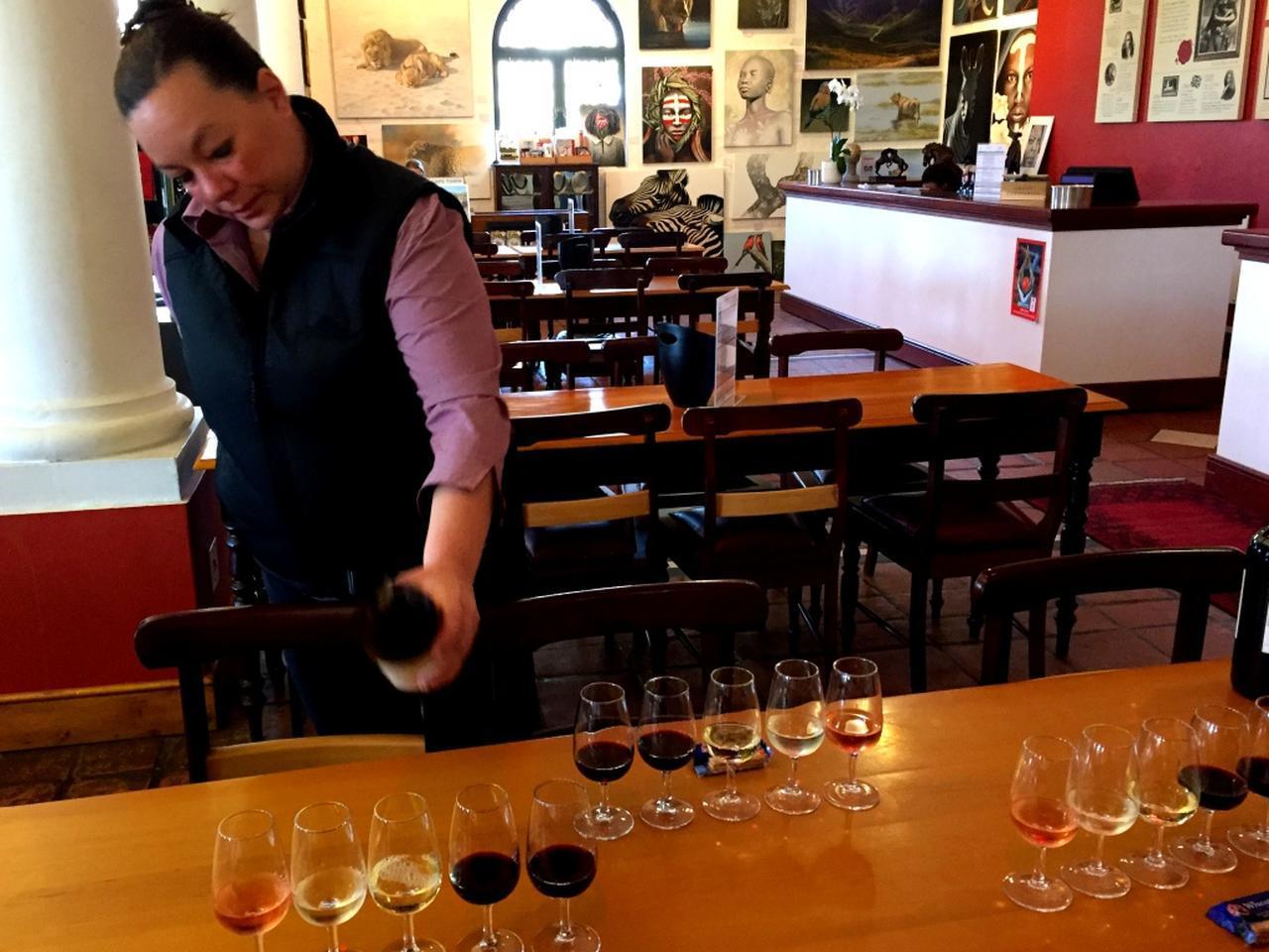 画像: 世界で人気の南アフリカワインをテイスティング