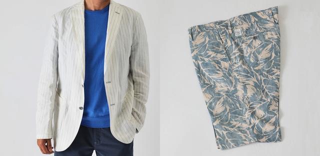 画像2: ロングパンツは、3アイテムがラインナップ。他にも、夏におすすめなハーフパンツとジャケットも。